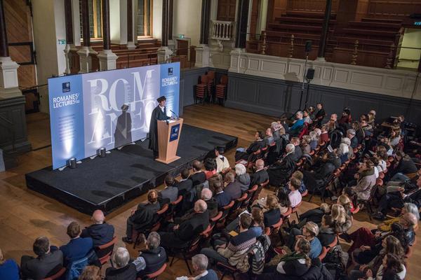 Professor Louise Richardson introduces the Romanes Lecture 2016